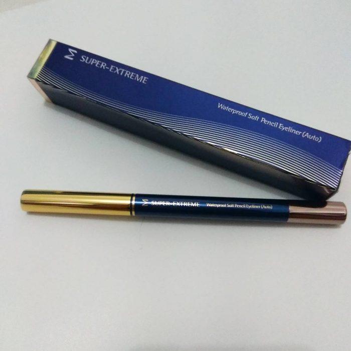 Chì Kẻ Mắt Missha M Super-Extreme Waterproof Soft Pencil Eyeliner