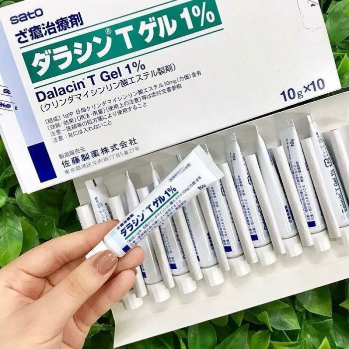 Kem trị mụn Dalacin T Gel 1%