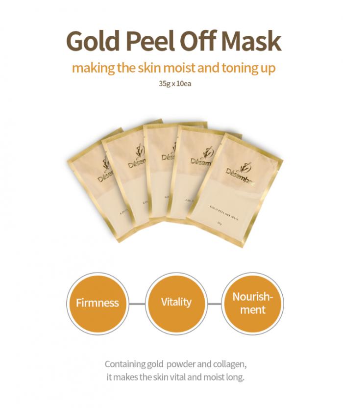 Mặt nạ vàng Désembre Gold Peel Off Mask