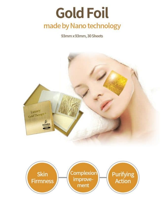 Mặt nạ vàng 24k Luxury Gold Therapy Desembre