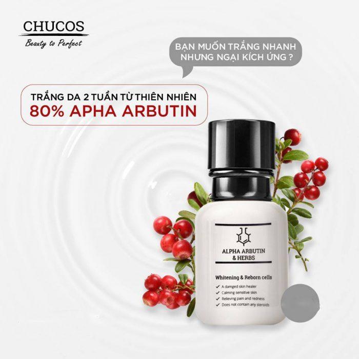 Serum Chucos Alpha-Arbutin & Herbs