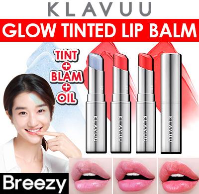 Son Dưỡng Klavuu Urban Pearlsation Glow Tinted Lip Balm