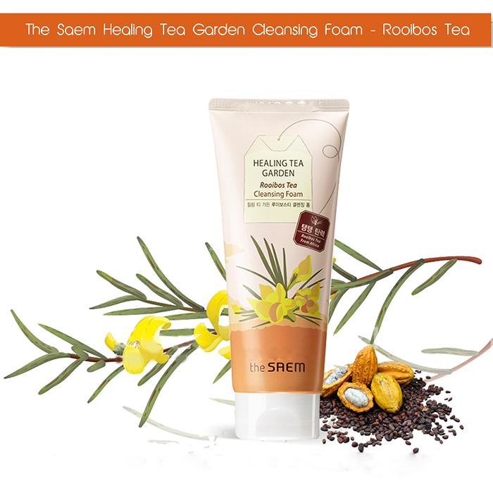 Sữa Rửa Mặt The saem Healing Tea Garden Cleansing Foam