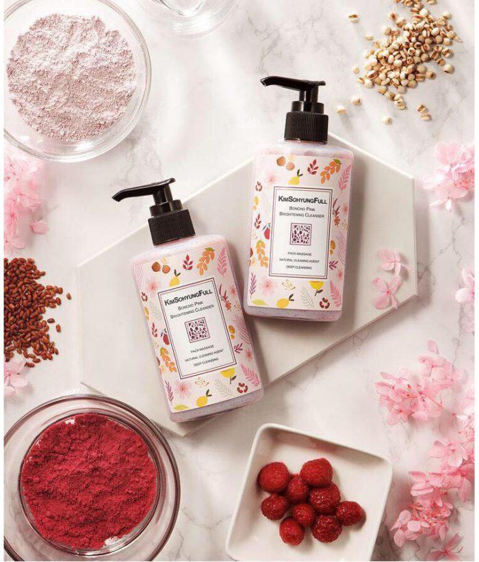 Sữa Rửa Mặt Kimsohyungfull Boncho Pink Brightening Cleanser