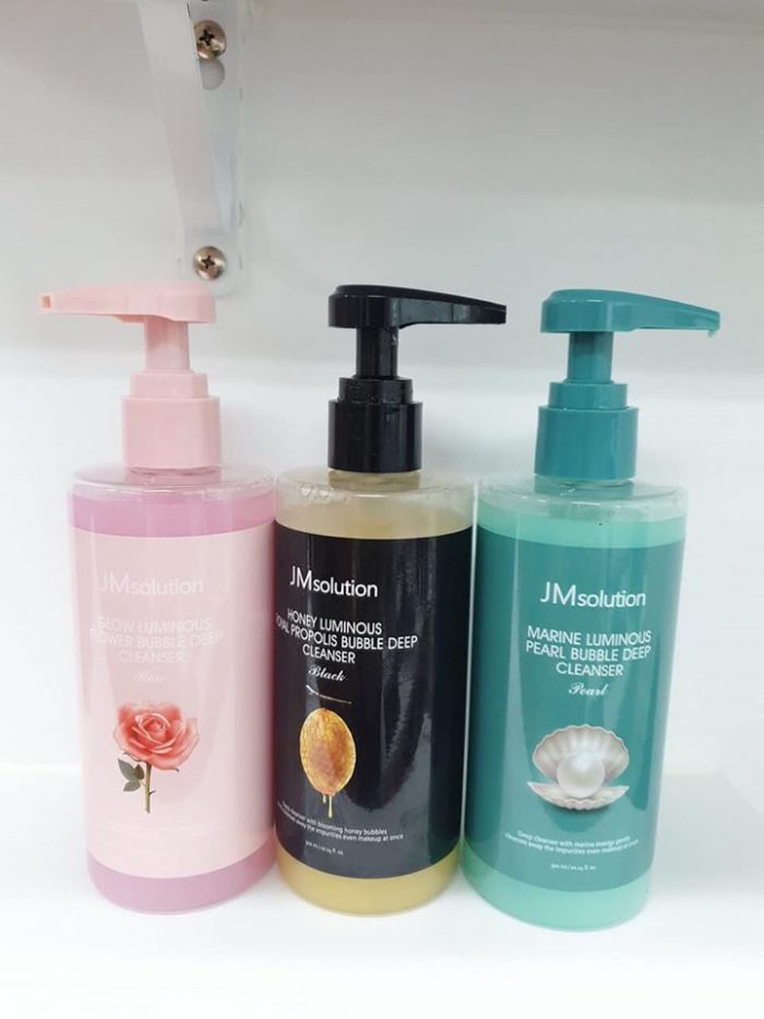 Sữa rửa mặt JM Solution bubble deep cleanser