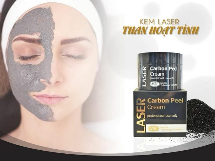 Than hoạt tính Laser Carbon Peel Cream
