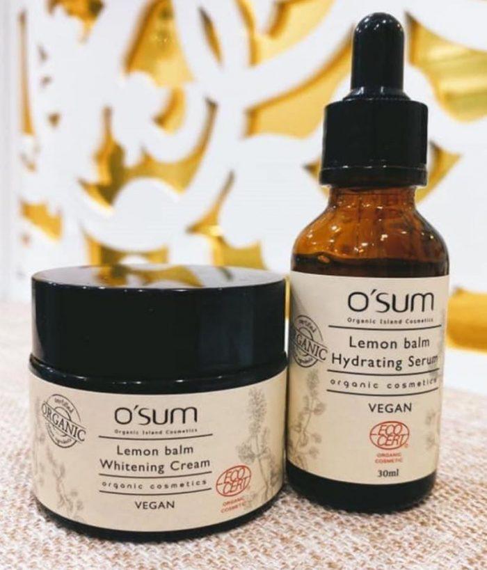 Tinh chất O'sum Organic Lemon Balm Hydrating Serum