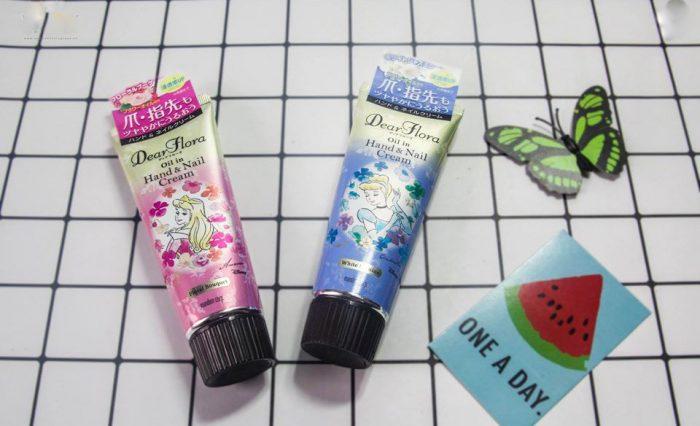 Kem dưỡng tay và móng Dear Flora Oil In Hand Nail Cream