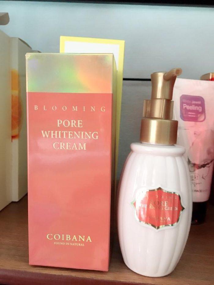 Kem Hoa Hồng Coibana Blooming Pore Whitening Cream