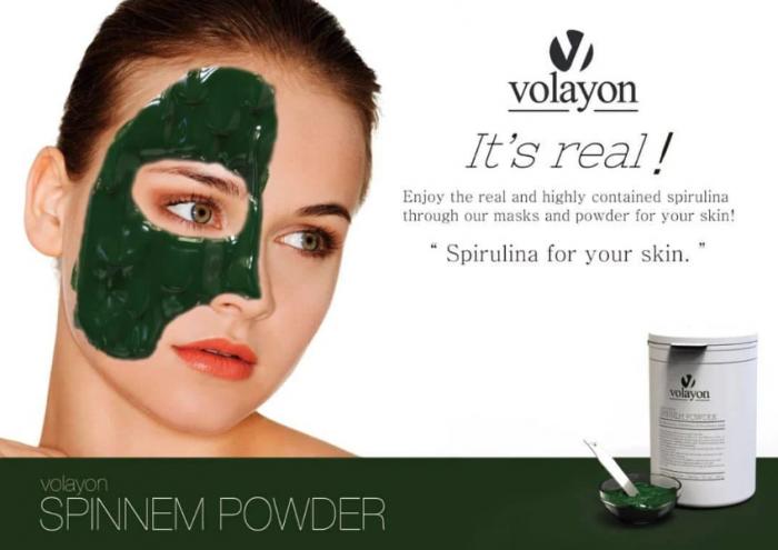 Mặt Nạ Tảo Xoắn Volayon Spinnem Powder