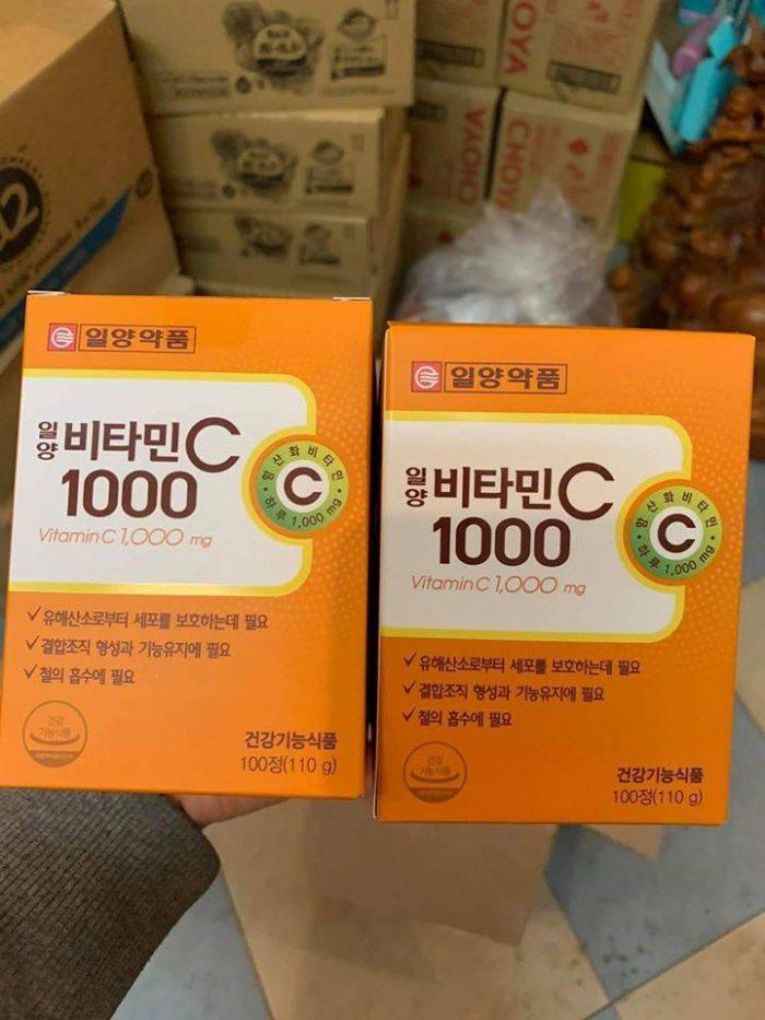 Viên uống ILyang Vitamin C 1000mg