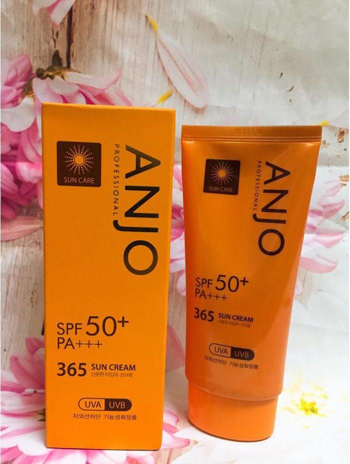 Kem Chống Nắng Anjo Professional 365 Sun Cream SPF50+ PA+++
