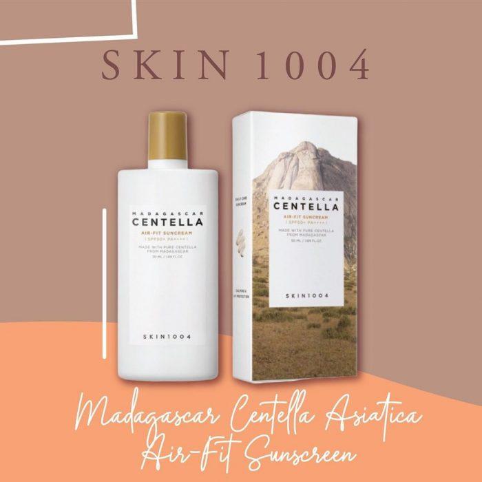 Kem Chống Nắng Skin1004 Madagascar Centella Air-Fit Suncream SPF50+ PA++++