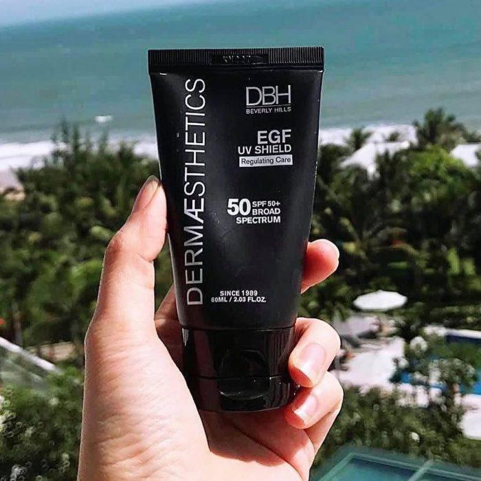 Kem chống nắng DBH EGF UV Shield SPF50 PA+++