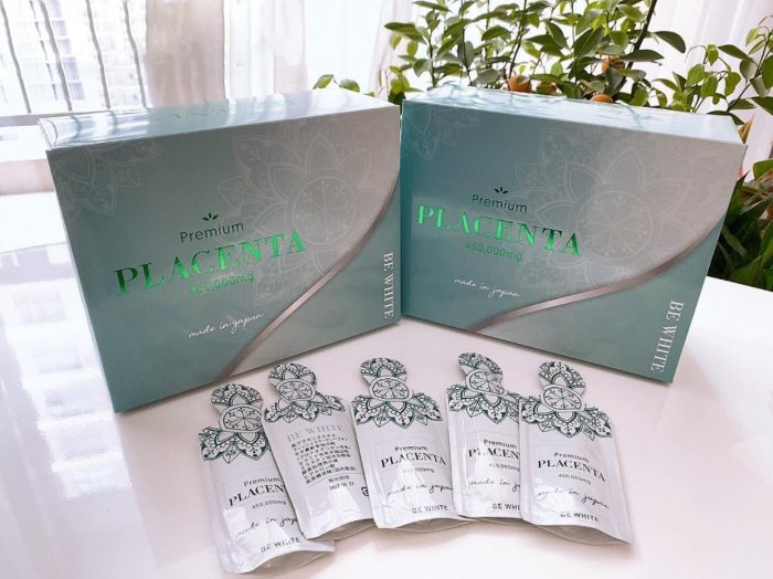 Nước uống Premium Placenta 450000mg Be White