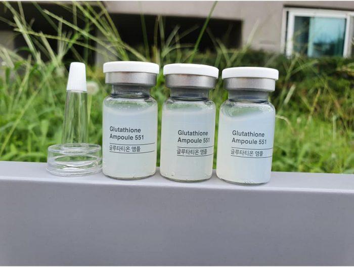 Serum truyền trắng Esthemax Glutathione 551