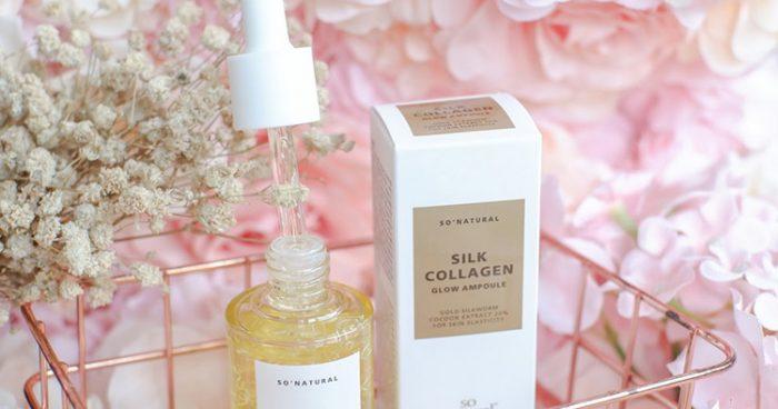 Serum Silk Collagen Glow Ampoule SoNatural