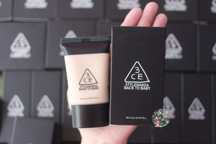 Kem Nền 3CE BB Cream Stylenanda Back To Baby SPF35 PA++