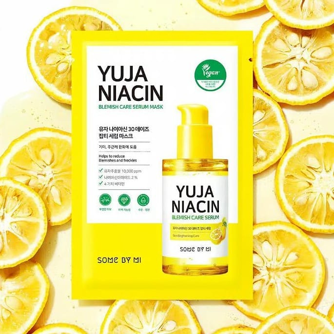 Mặt Nạ Some By Mi Yuja Niacin Blemish Care Serum Mask