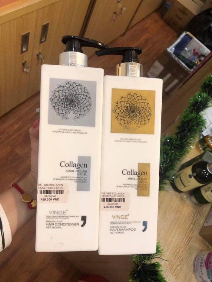 Dầu gội Vinge Collagen Absolute Hair Appeal