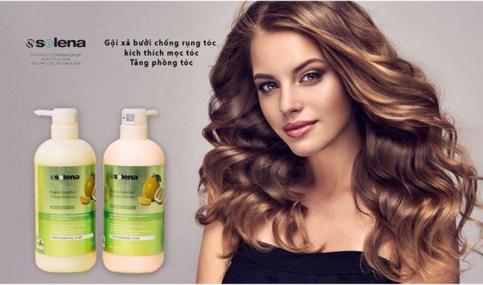 Dầu gội Selena Organic Grapefruit Collagen & Keratin