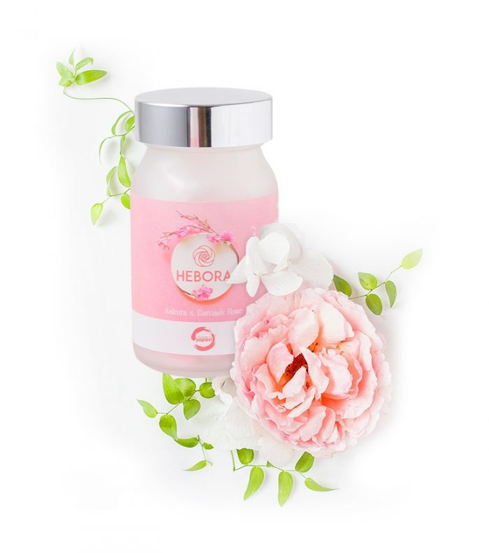 Viên uống Hebora Sakura Damask Rose
