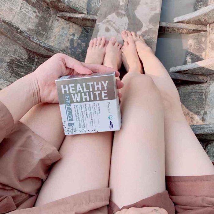 Viên sủi Trắng Da Healthy White Efferglow Cosmeheal