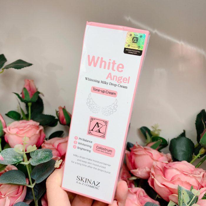 Kem dưỡng trắng da Skinaz White Angel Whitening Milky Drop Cream