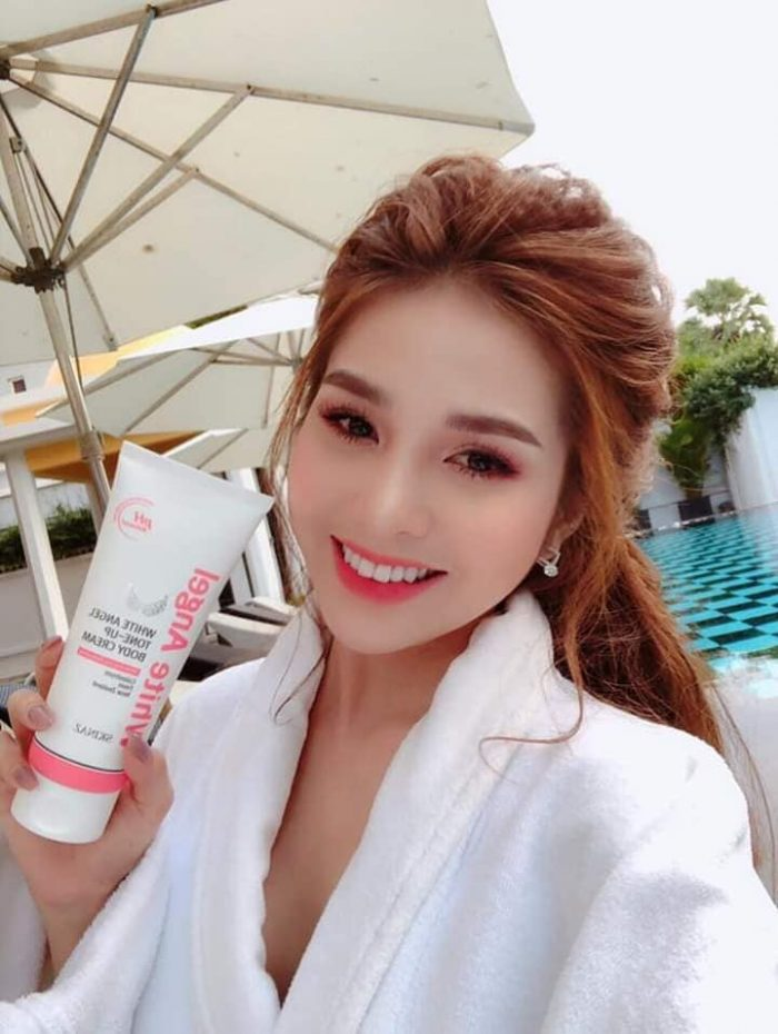 Kem Trắng Da Skinaz White Angel Tone Up Body Cream