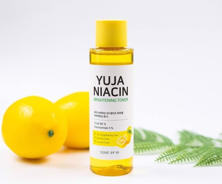 Review Nước hoa hồng Some By Mi Yuja Niacin Brightening Toner】