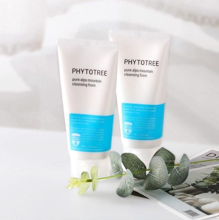Sữa rửa mặt Phytotree Pure Alps Mountain Cleansing Foam