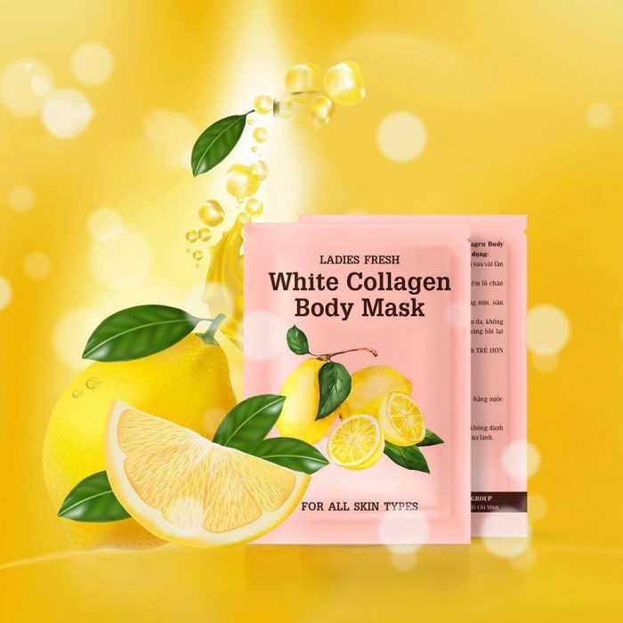 Ủ trắng Ladies Fresh White Collagen Body Mask