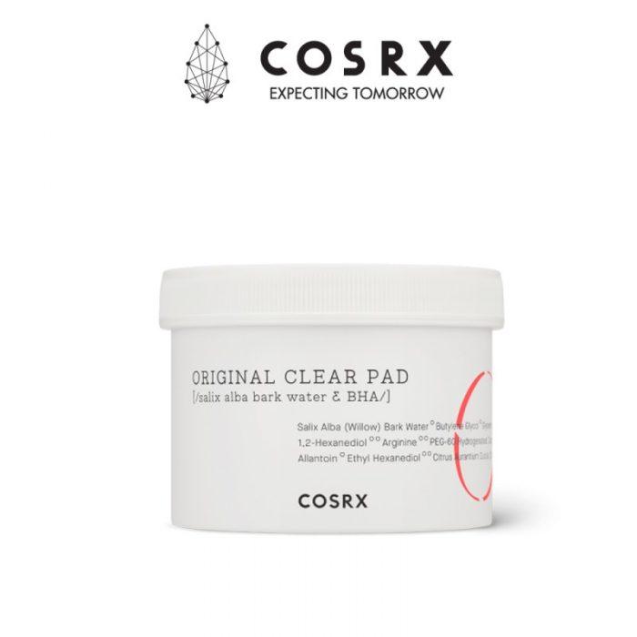Bông tẩy da chết COSRX One Step Original Clear Pad