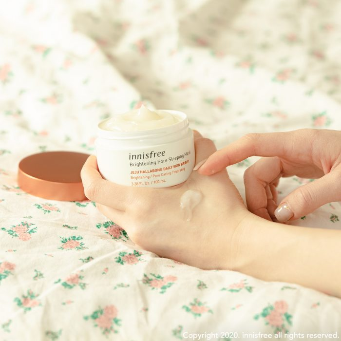 Mặt Nạ Ngủ Innisfree Brightening Pore Sleeping Mask