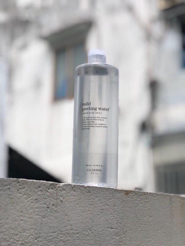 Nước tẩy trang CELDERMA daily Mild Peeling Water