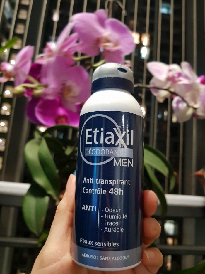 Xịt Khử Mùi Etiaxil Deodorant Men Anti-Transpirant Controle 48h Peaux Sensibles