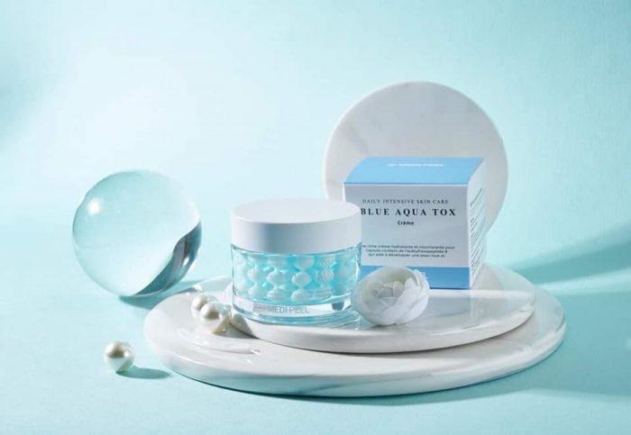 Kem dưỡng trắng da Medi-Peel Blue Aqua Tox Cream