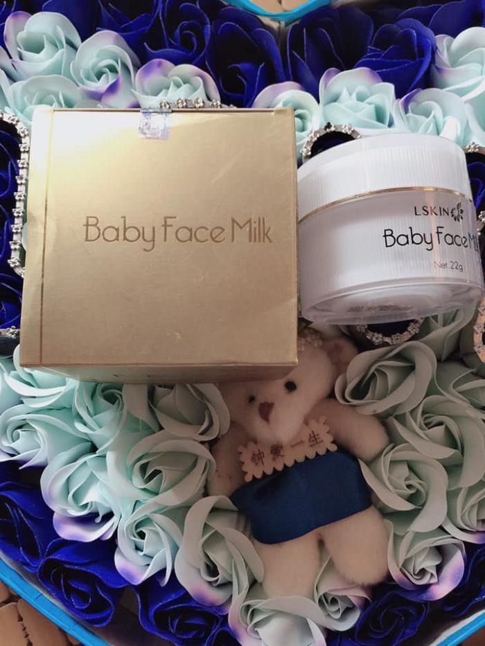 kem trắng da Lskin Baby Face Milk