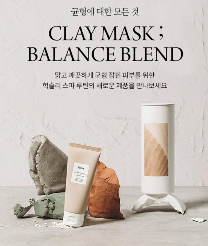 Mặt Nạ Đất Sét Huxley Secret Of Sahara Clay Mask Balance Blend