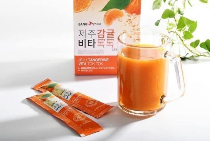 Nước Ép Quýt Sanga Jeju Tangerine Vita Tok Tok