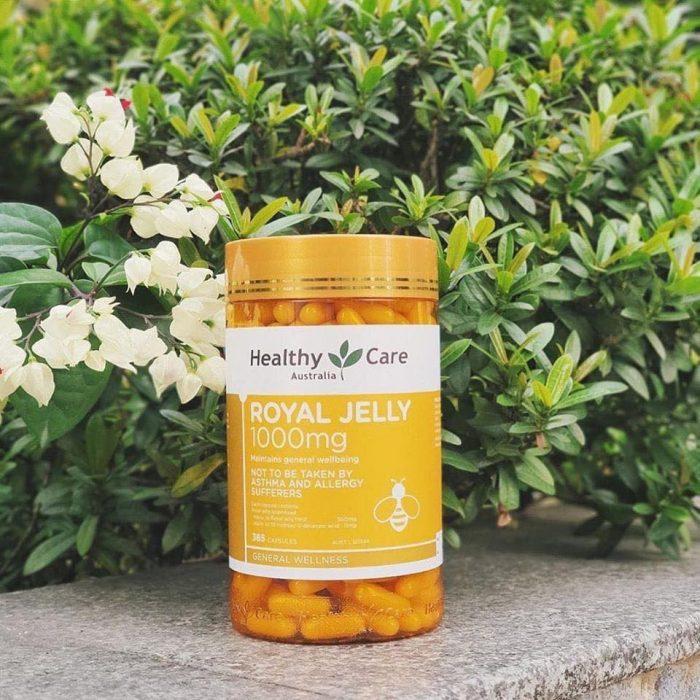 Sữa Ong Chúa Healthy Care Royal Jelly 1000mg