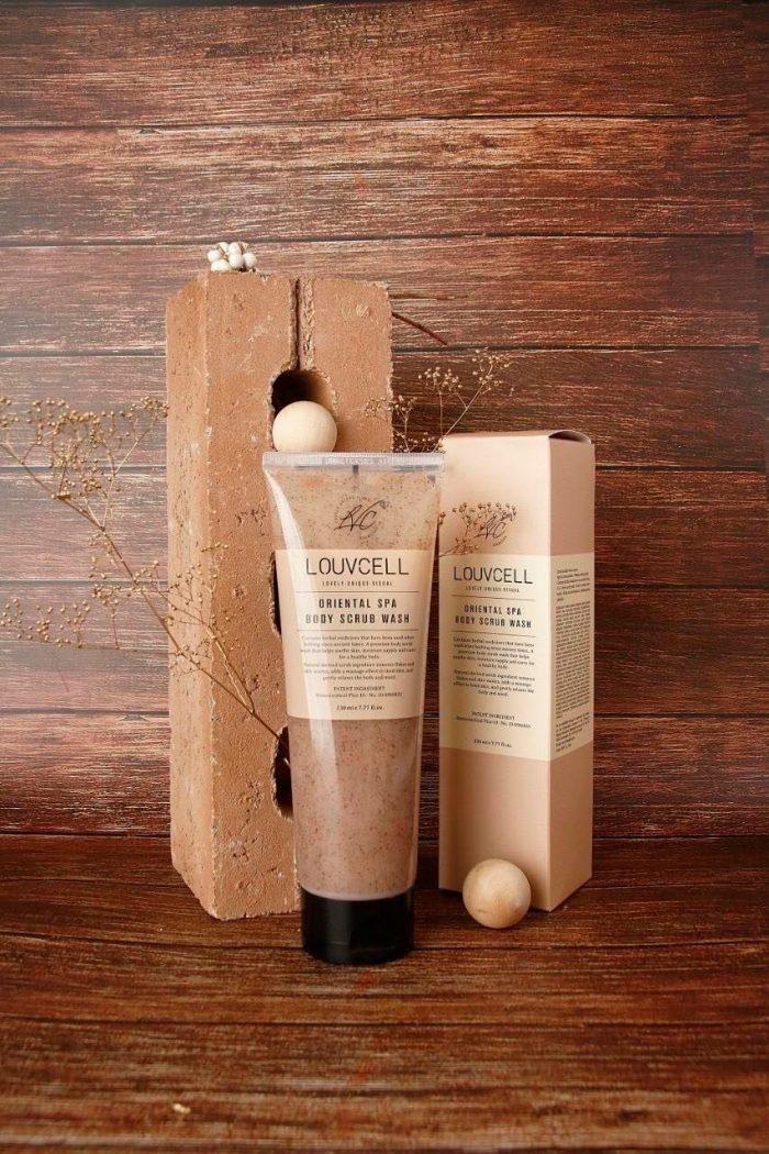 Tẩy da chết LOUVCELL Oriental Spa Body Scrub Wash