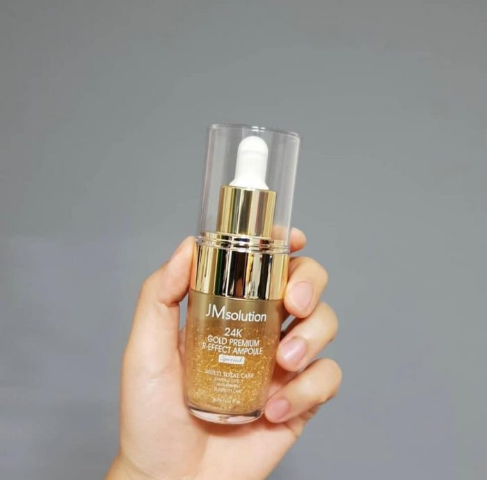 Tinh chất JM Solution 24K Gold Premium R-effect Ampoule Special