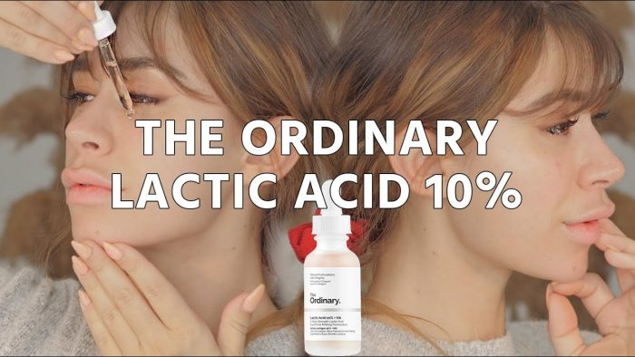 Serum The Ordinary Lactic Acid 10% + HA