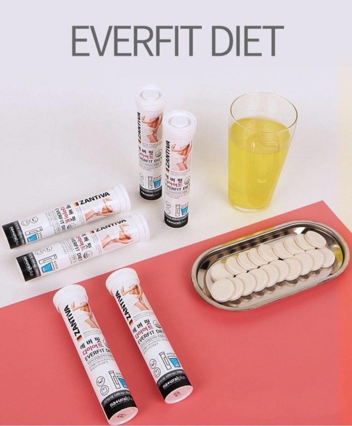 Viên Sủi Giảm Cân Zantiva Everfit Diet