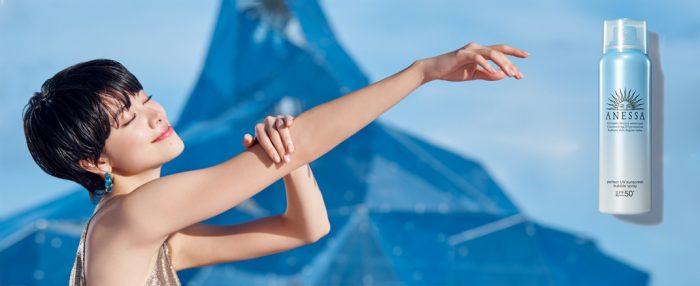 Xịt Chống Nắng Anessa Perfect UV Sunscreen Bubble Spray SPF50+/PA++++