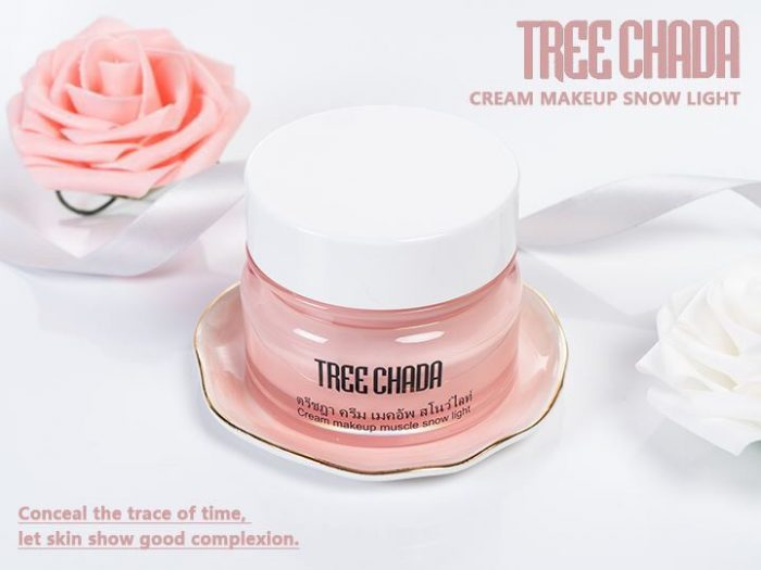 Kem Tree Chada Cream Makeup Muscle Snow Light