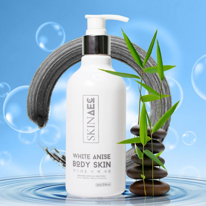 Tắm trắng Skin AEC white anise body skin
