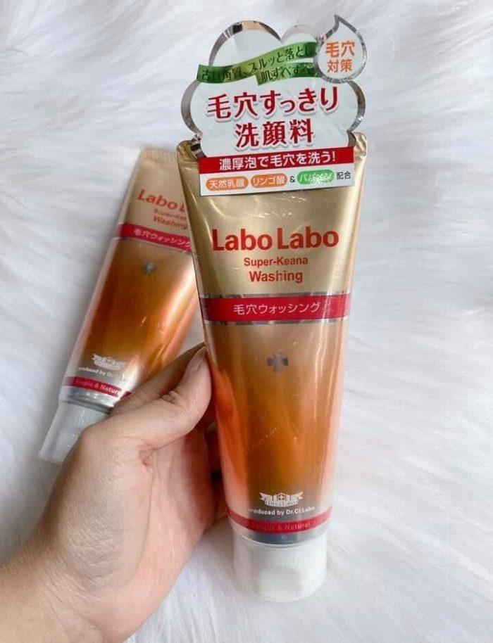 sữa rửa mặt Labo Labo Super Keana Washing