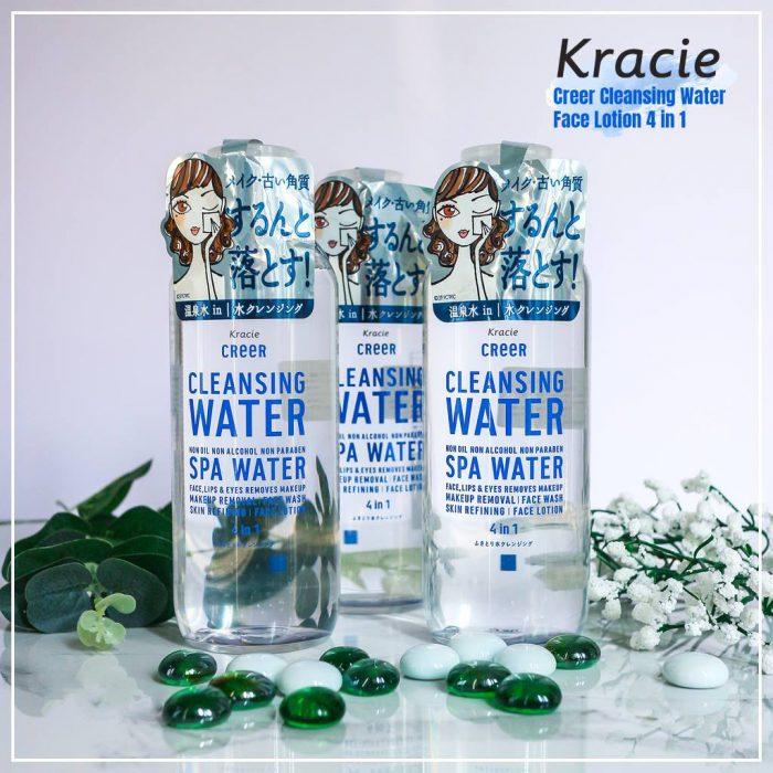 Nước Tẩy Trang Kracie Creer Spa Cleansing Water 4 in 1
